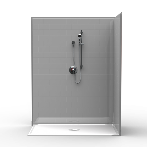 Barrier Free Corner Shower