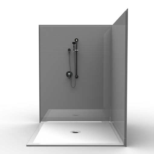 Barrier Free Corner Shower