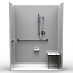 ADA Roll-In Shower