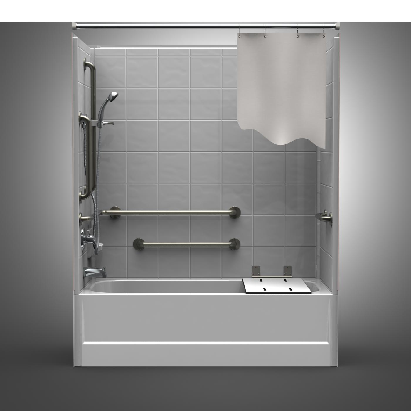 Ada Tub Shower Stall Ada Handicap Tub Shower