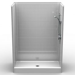 Curbed Shower