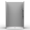 Barrier Free Shower - Five piece extra tall 60x29 - Real Tile Look