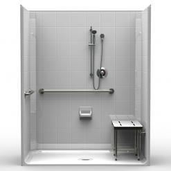 ADA Roll-In Shower