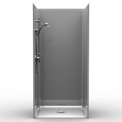 Barrier Free Shower - One piece 38x38 - Smooth Look
