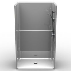 Barrier Free Shower - One piece 48x36 - Smooth Look