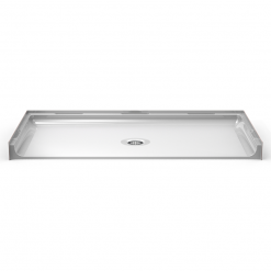 ADA Roll-In Shower pan One Piece 63x38