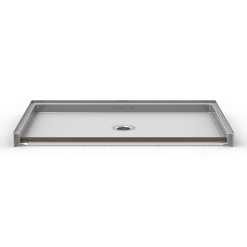 ADA Roll-In Shower pan - One Piece 64x39