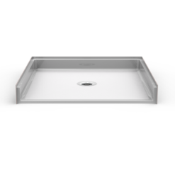 Barrier Free Shower Pan - Seamless 48x48