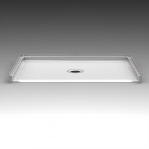 Barrier Free Shower Pan - Seamless 54x30